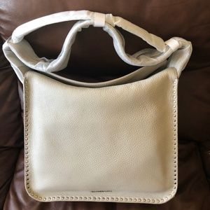 Michael Kors Astor Large Leather Purse CEMENT